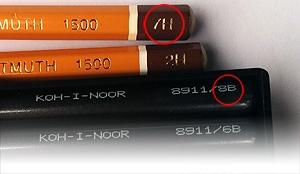 Индекс жесткости карандашей